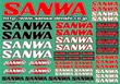 SANWAデカール(CLR)