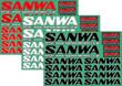 SANWAデカール